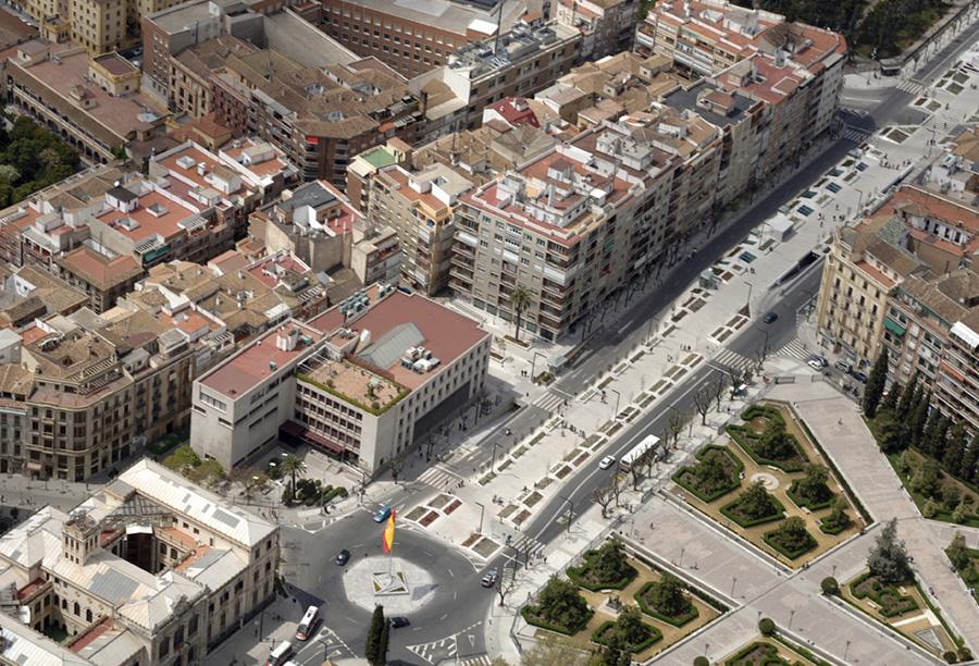 1998 – 2007: Reforma Urbana de las principales Avenidas de Granada